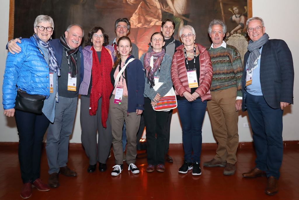 EAPR Members at WPC, Cusco, Peru