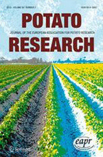 Front cover of the latest potato research issue